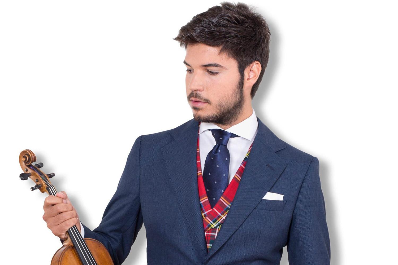 Paco Montalvo presenta su violín flamenco en el Teatro Leal