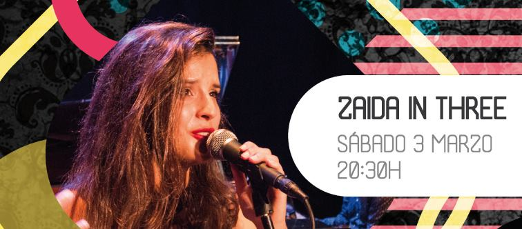 Zaida in three en Jazz en el Convento