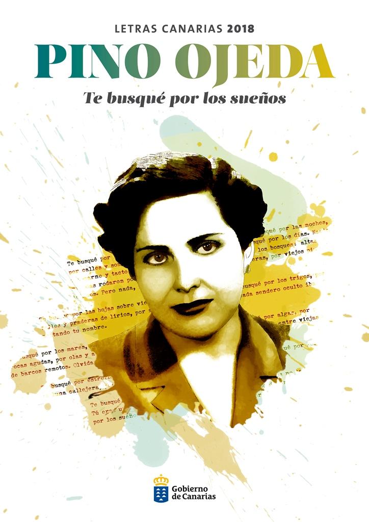 Pino Ojeda homenaje en la edición 2018 de las Letras Canarias