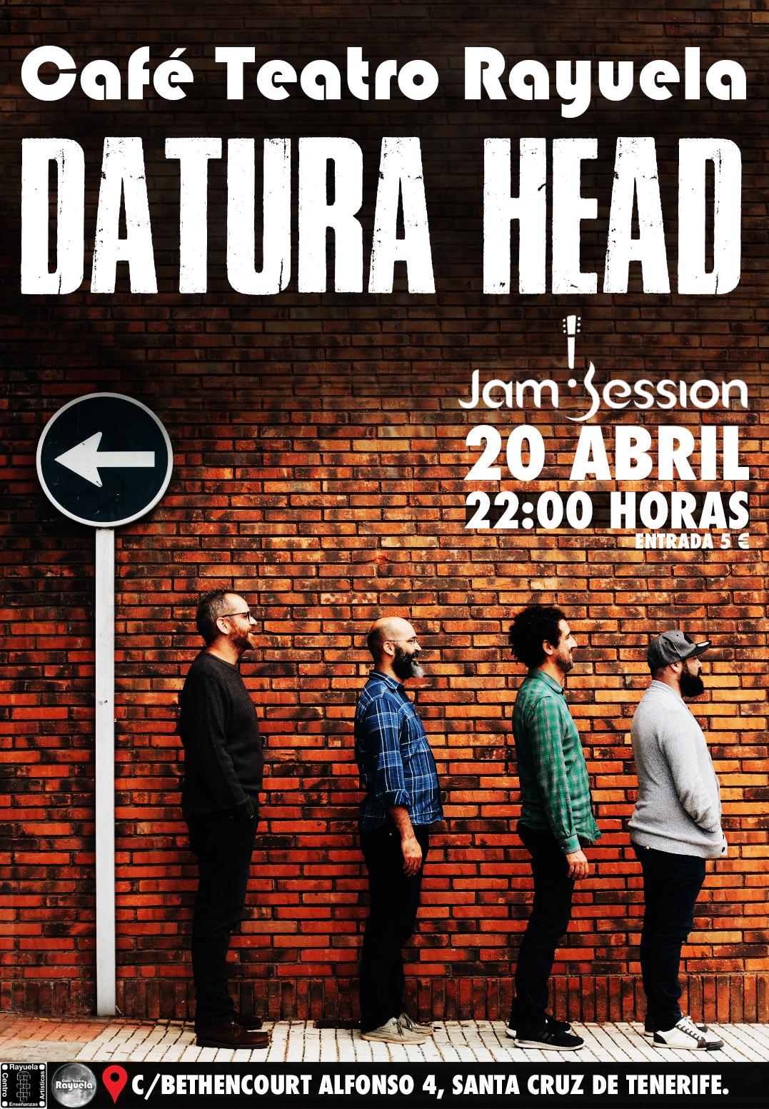 Datura Head en Café Teatro Rayuela