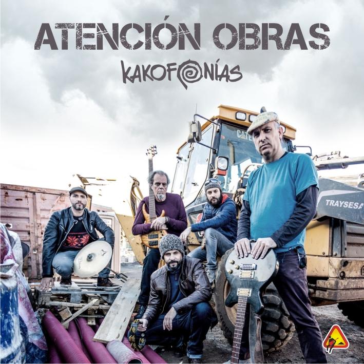 Kakofonías presenta su nuevo álbum