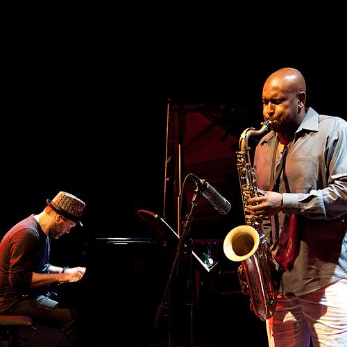 Blacksalt: Lucian Ban & Abraham Burton duo en Bogui