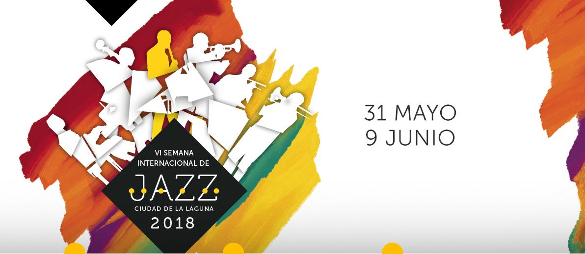 Cartel de la VI Semana Internacional del Jazz Ciudad de La Laguna