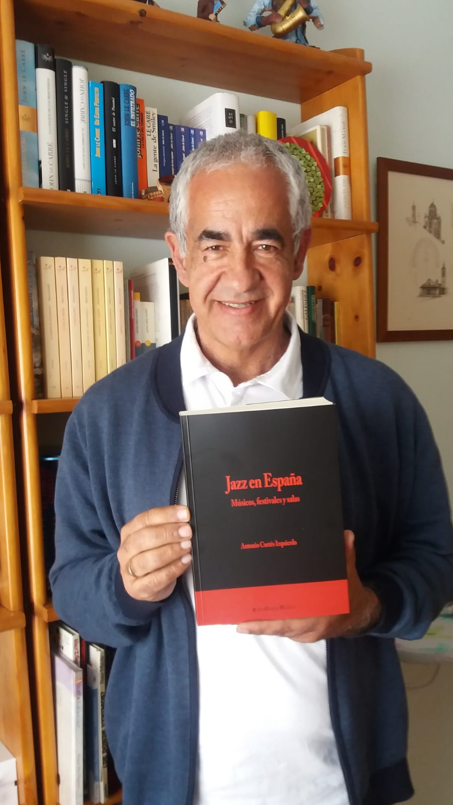 Antonio Cortés: «Canarias es una de las zonas que aglutinan a más músicos de jazz»