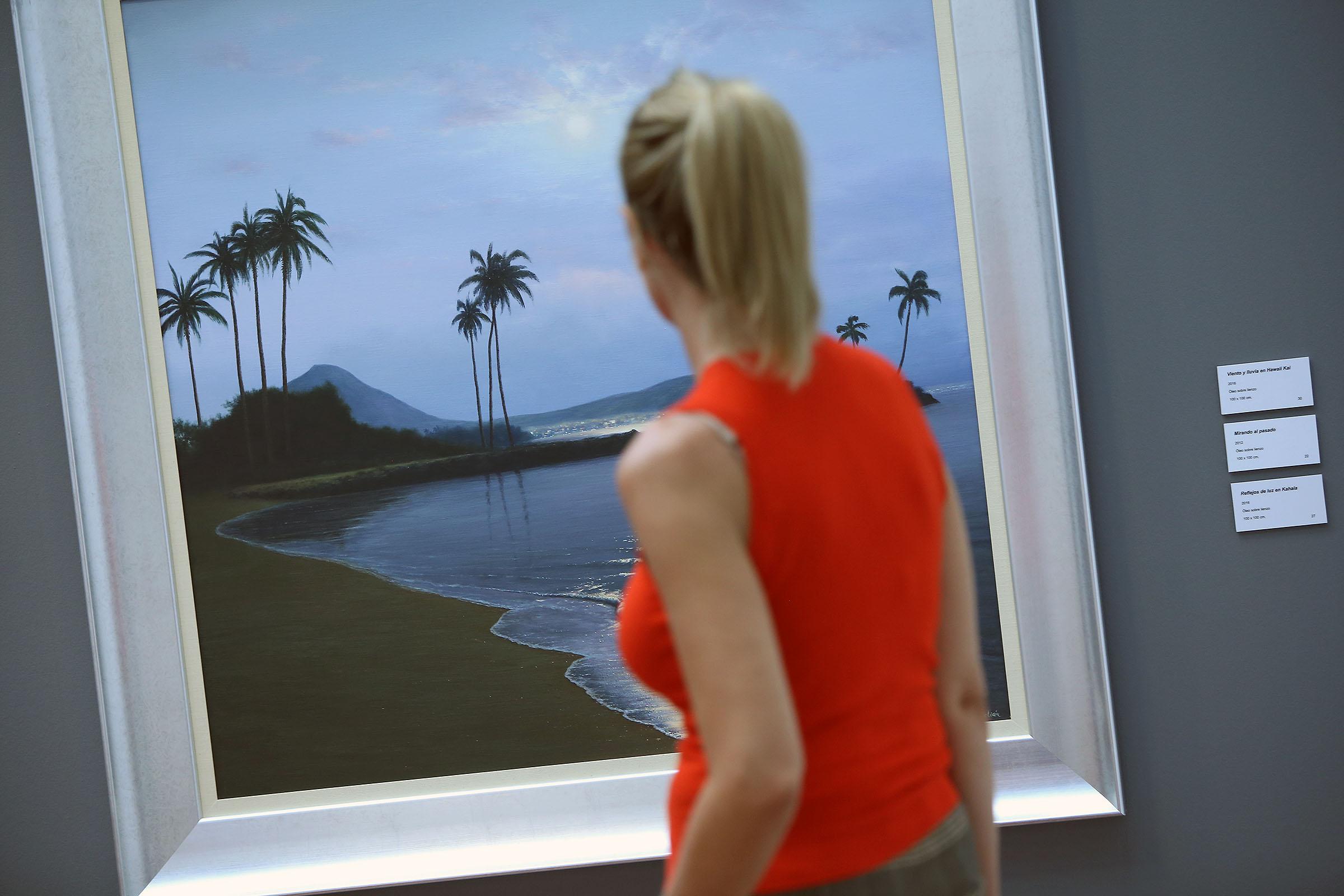 Inaugurada la exposición Canarias-Hawaii Chago Melián