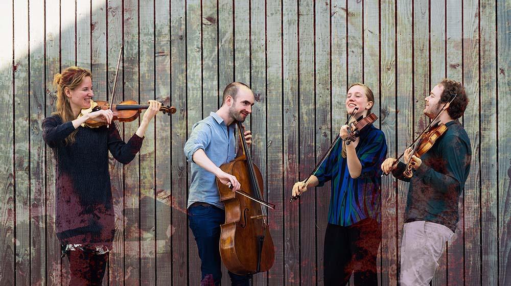 North Sea String Quartet lleva su propuesta de folk-fusion al Teatro Leal el próximo 22 de septiembre
