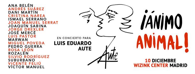 Una constelación de cantautores tributarán a Luis Eduardo Aute