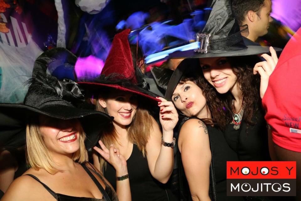 Música, sorpresas y maquilladoras para la noche de Halloween en Berlín 89 y Mojos y Mojitos