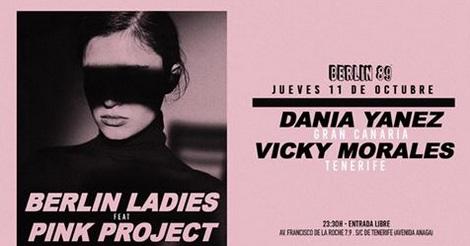 Dania Yanez y Vicky Morales llevan la esencia del colectivo Pink Project al Berlín 89