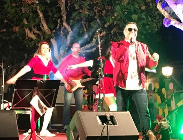 Christmas Rock lleva a la Plaza del Charco a los clásicos navideños