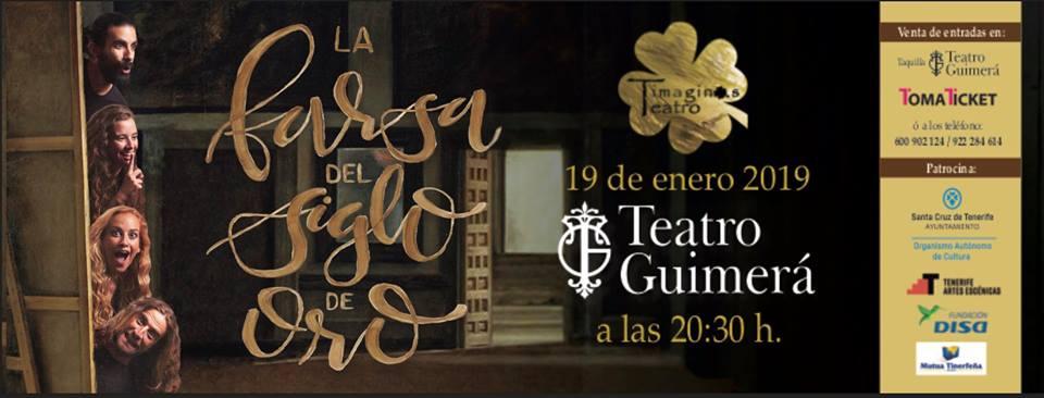 La farsa del siglo de oro en el Teatro Guimerá