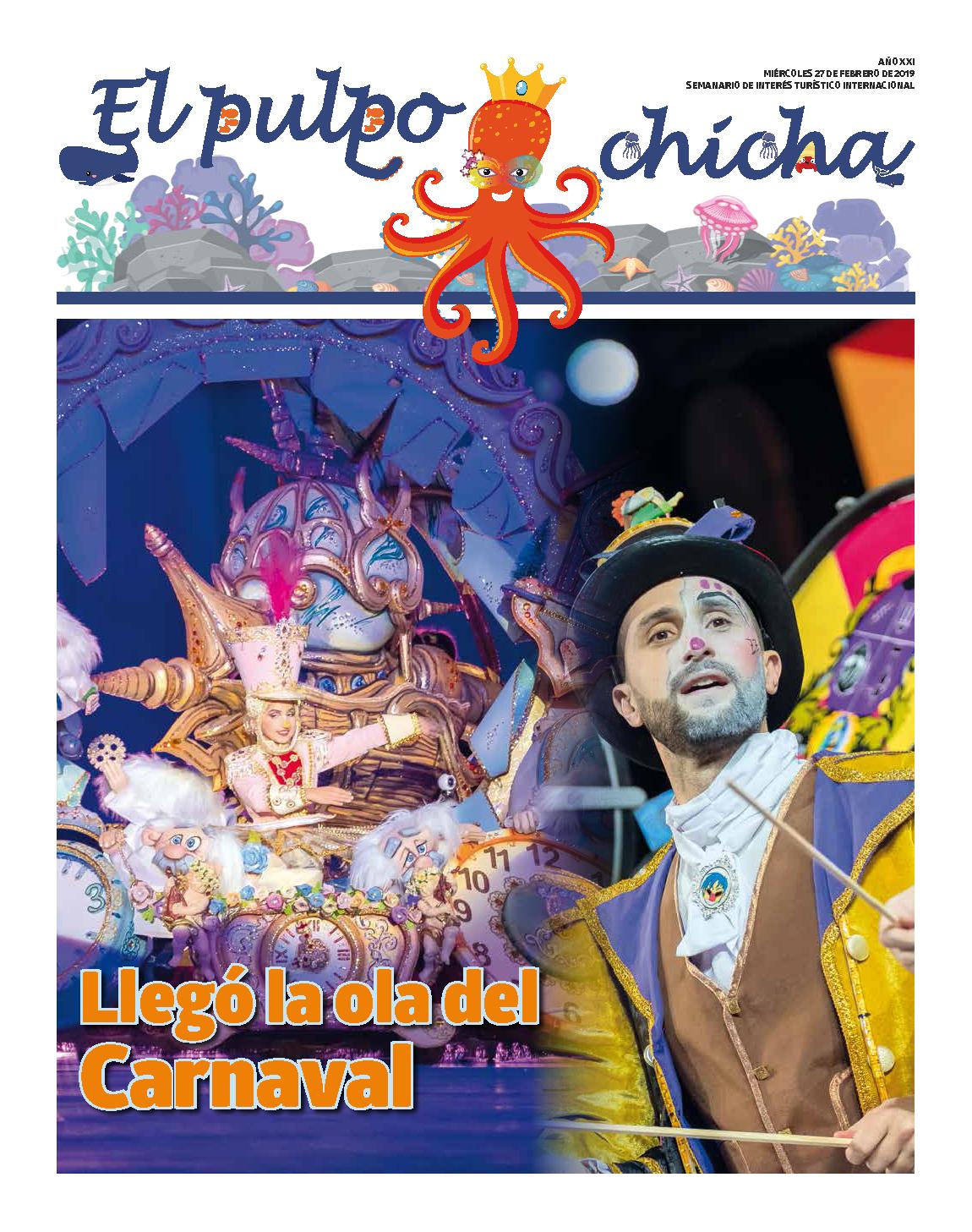 Personajes inolvidables de la Fiesta protagonizan El pulpochicha, el periódico del Carnaval