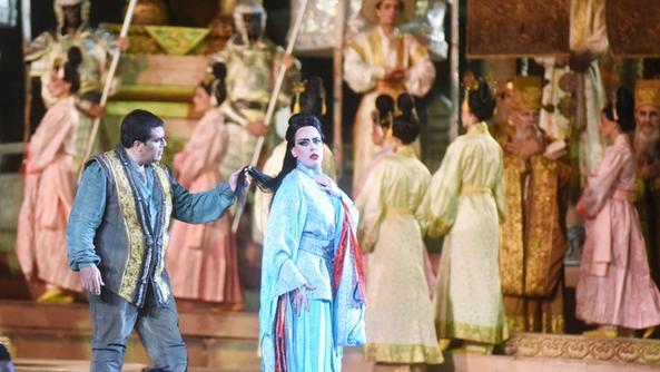 Turandot en el Auditorio de Tenerife, en marzo