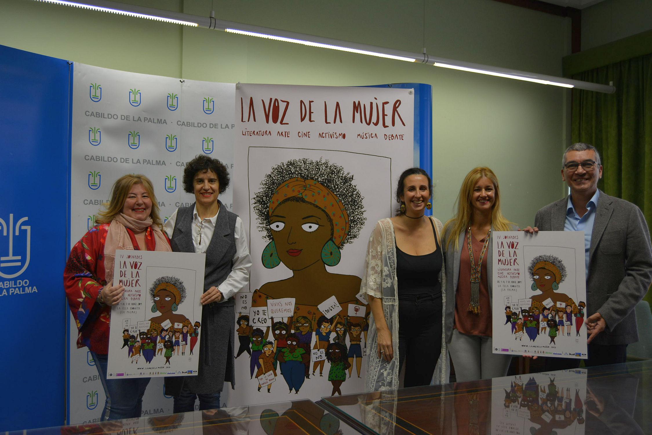 'La voz de la mujer' llena La Palma de cultura y activismo feminista