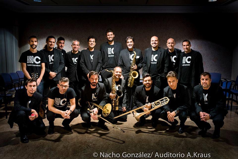 La Big Band de Canarias celebra su décimo aniversario con fichajes de lujo