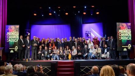 El plazo de inscripción para Premios Canarios de la Música concluye la próxima semana
