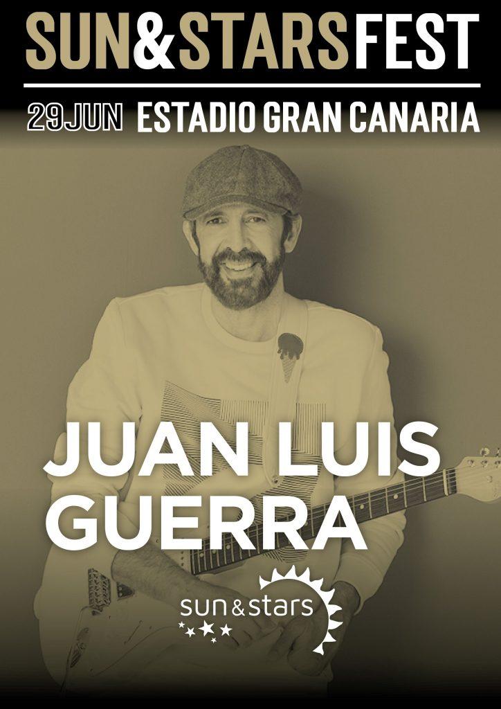 El artista Juan Luis Guerra se une al cartel de Sun&Stars