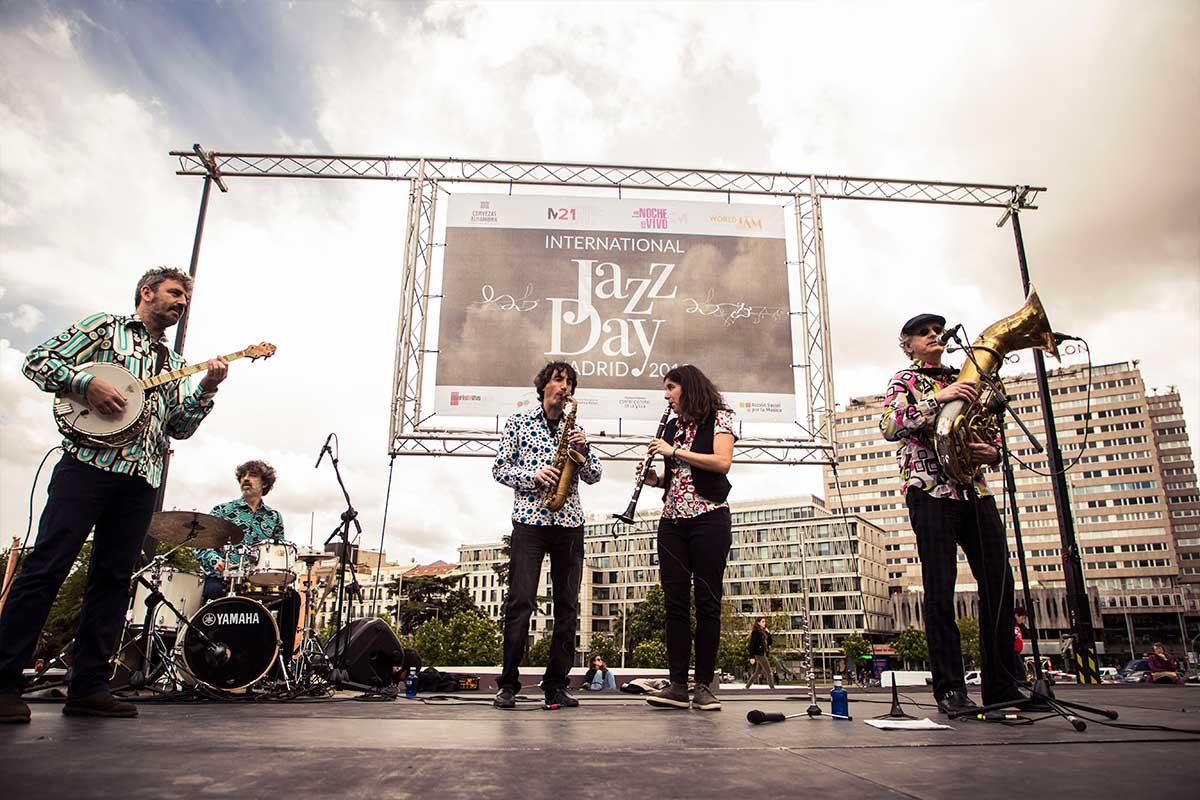 II International Jazz Day Madrid, entre los días 26 de abril y 5 de mayo