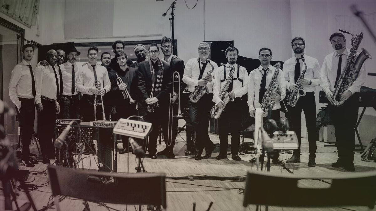 RE Big Band homenajea a las orquestas de los años 40s, 50s y 60s – International Jazz Day Madrid 2019