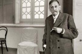 El escritor Benito Pérez Galdós