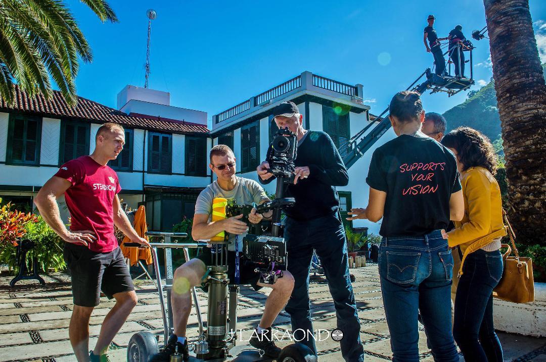 Garrett Brown regresa a Tenerife con motivo del Steadicam Gold Workshop