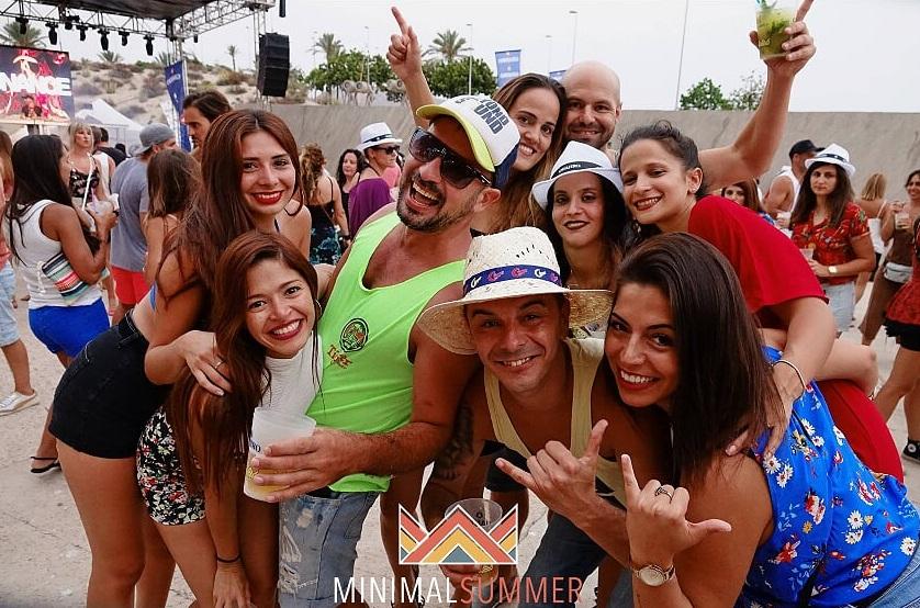 Minimal Summer une música, piscinas y gastronomía en el Magma el 27 de julio