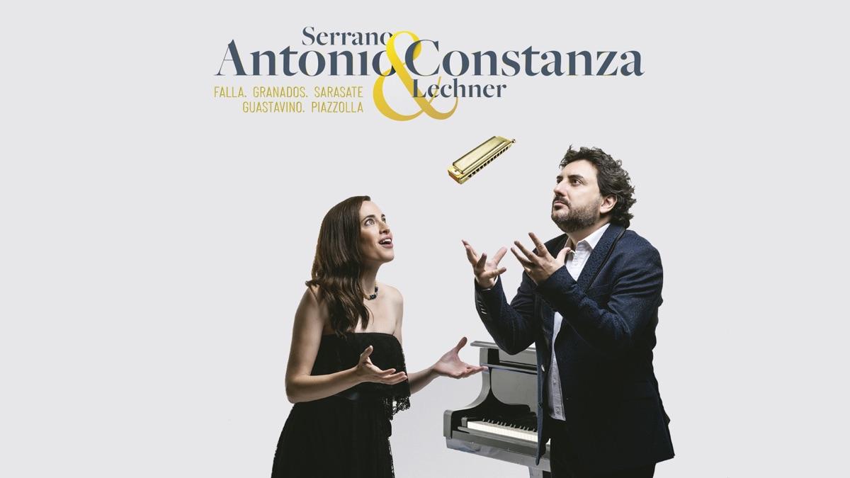 Antonio Serrano y Constanza Lechner publican y presentan nuevo disco
