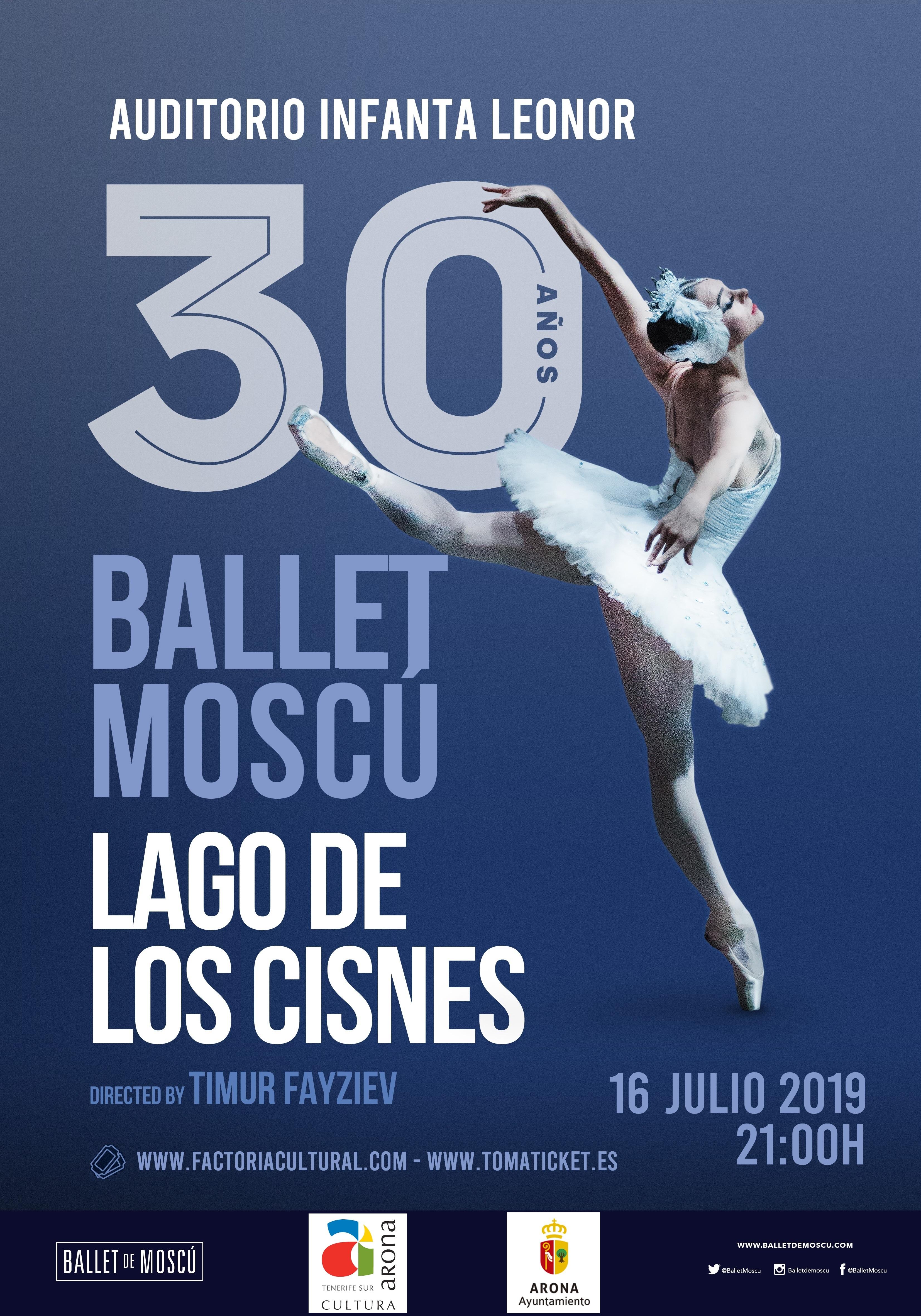 El Lago de los Cisnes cumple 30 años, gira por Canarias