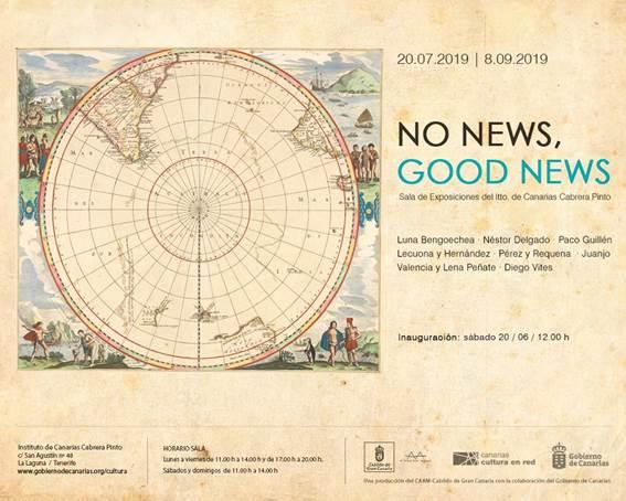 No news, good news reúne destacadas firmas de la escena plástica canaria en la Sala Cabrera Pinto
