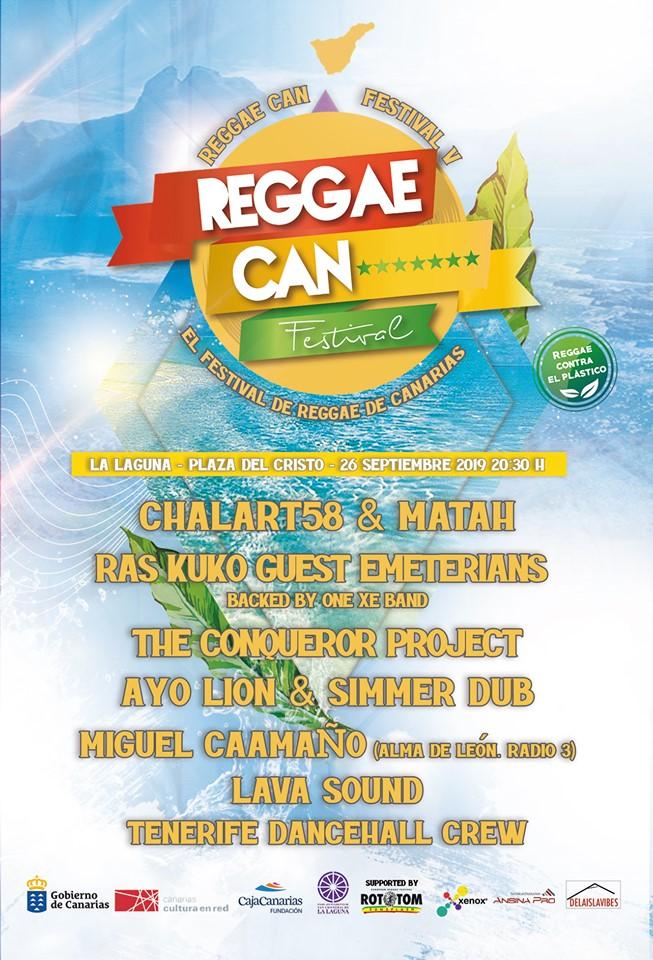 Reggae Can Festival refuerza su compromiso social en su quinta edición