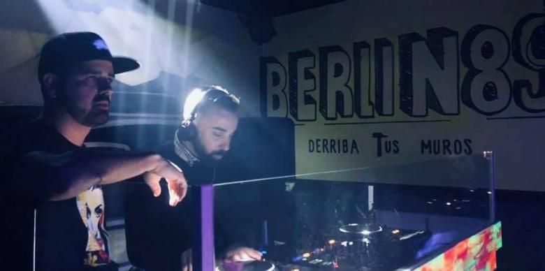 Dj Chester y Dj Winner comandan Back to Verónicas en Berlín 89