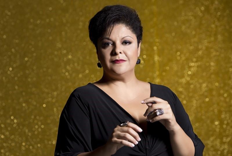 La cantante brasileña Fabiana Cozza, este sábado en el V Fábrica Fest Plus