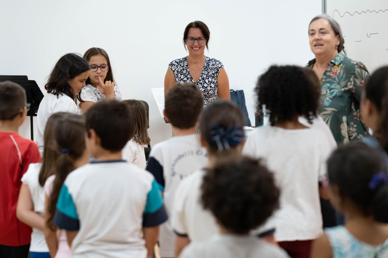 Más de 100 personas participan en el primer día de la Escuela Coral de Tenerife