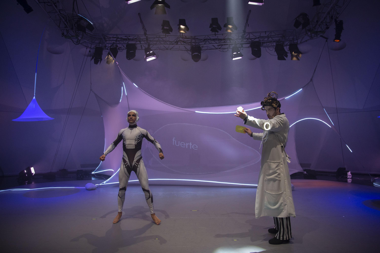 Telón ofrece los espectáculos familiares Eti-Queta y Éxodo