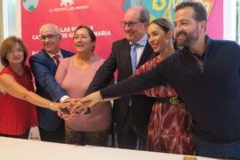 Firma acuerdo Womad 2019 con Televisión Española y Radiotelevisión Canaria
