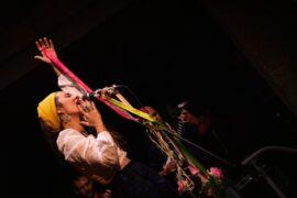Grande.Beatriz Alonso, voz de Simbeque project, durante el concierto en el XI Festival Internacional de Jazz de los Andes. Colombia_MG_1534