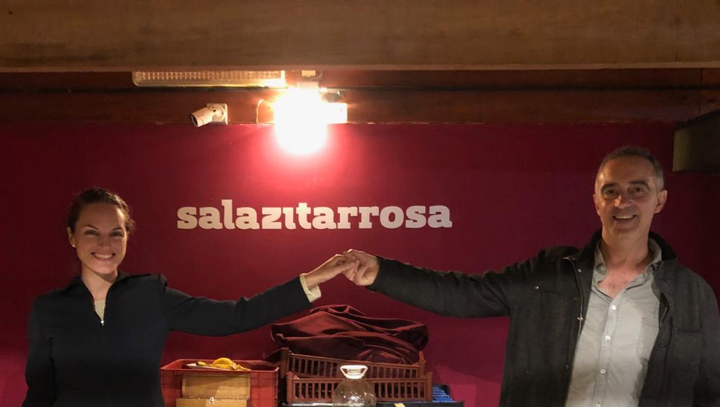 Andrés Molina, muy satisfecho con la presentación de Los hombres que bebieron con Dylan Thomas en Uruguay