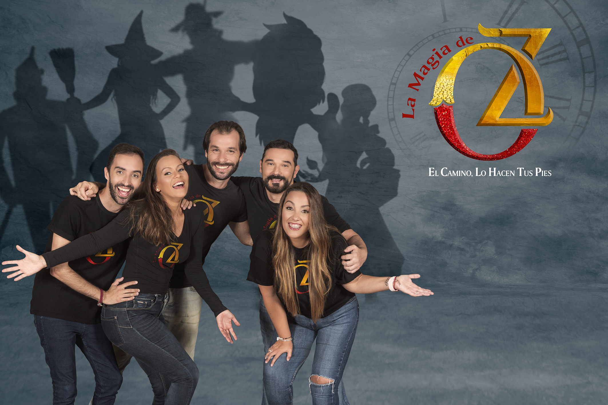 El camino de baldosas amarillas lleva La Magia de Oz hasta el Teatro Guiniguada
