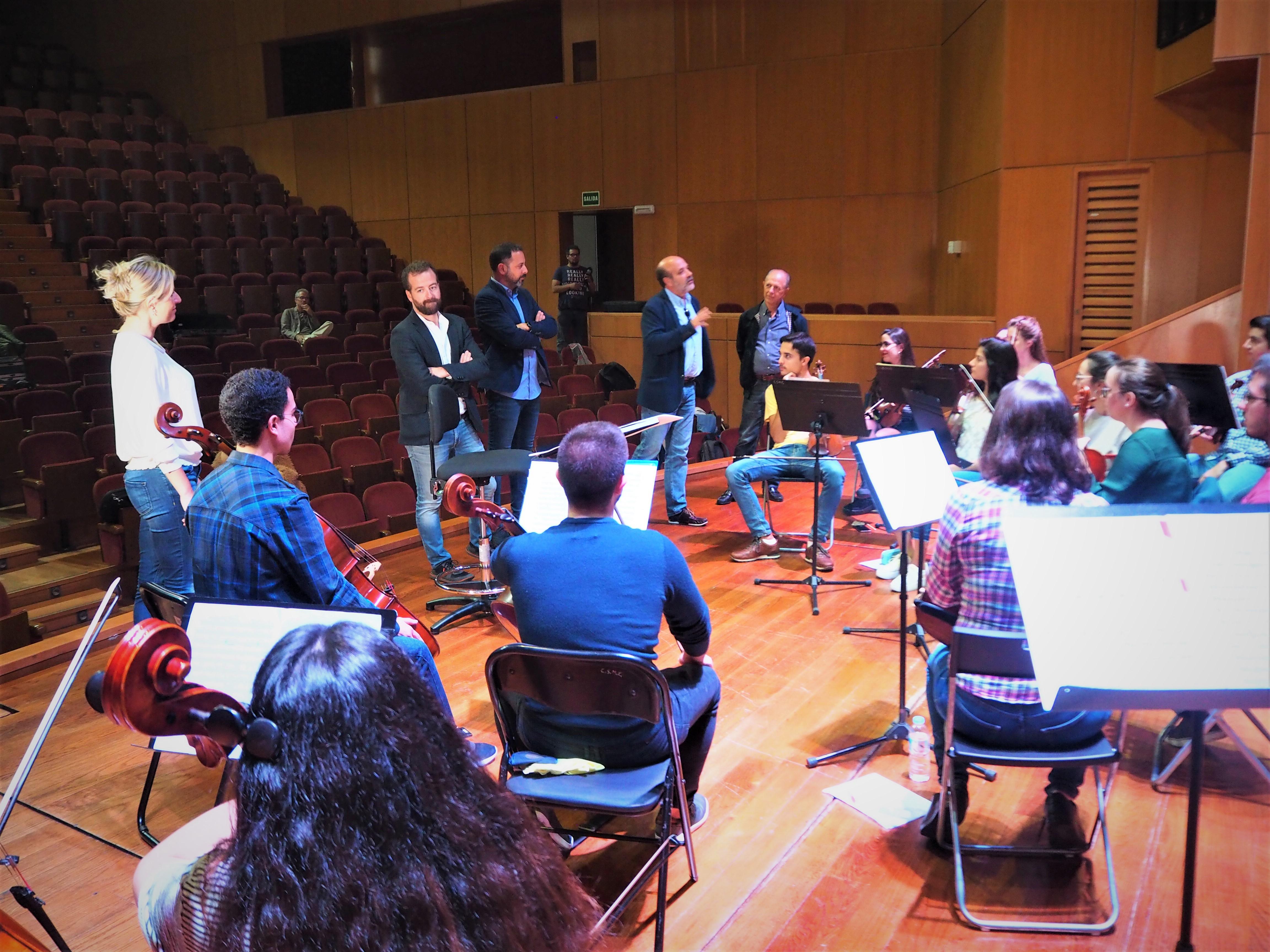 La Orquesta del Conservatorio arranca este viernes el proyecto Sigue la Música