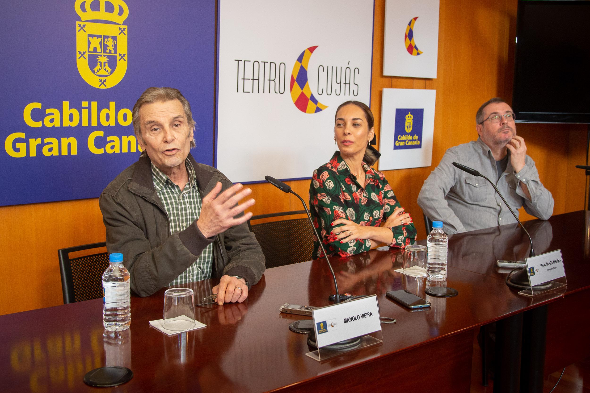 Manolo Vieira presentará en el Cuyás su nuevo espectáculo
