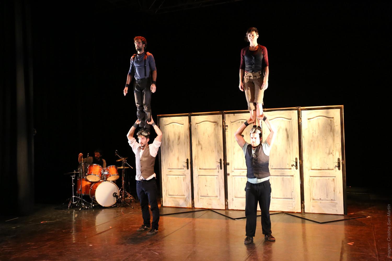 Emportats sube este domingo al escenario del Teatro Leal de La Laguna