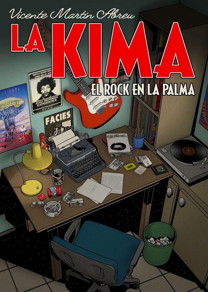 Vicente Martín Abreu publica La Kima, Rock en La Palma