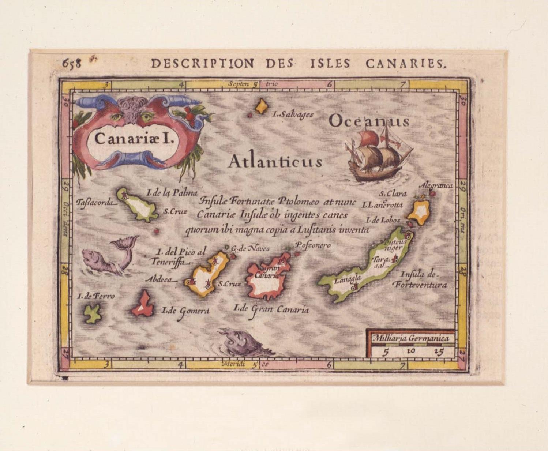 El Museo de Historia y Antropología cuenta con cerca de doscientos mapas históricos de Canarias
