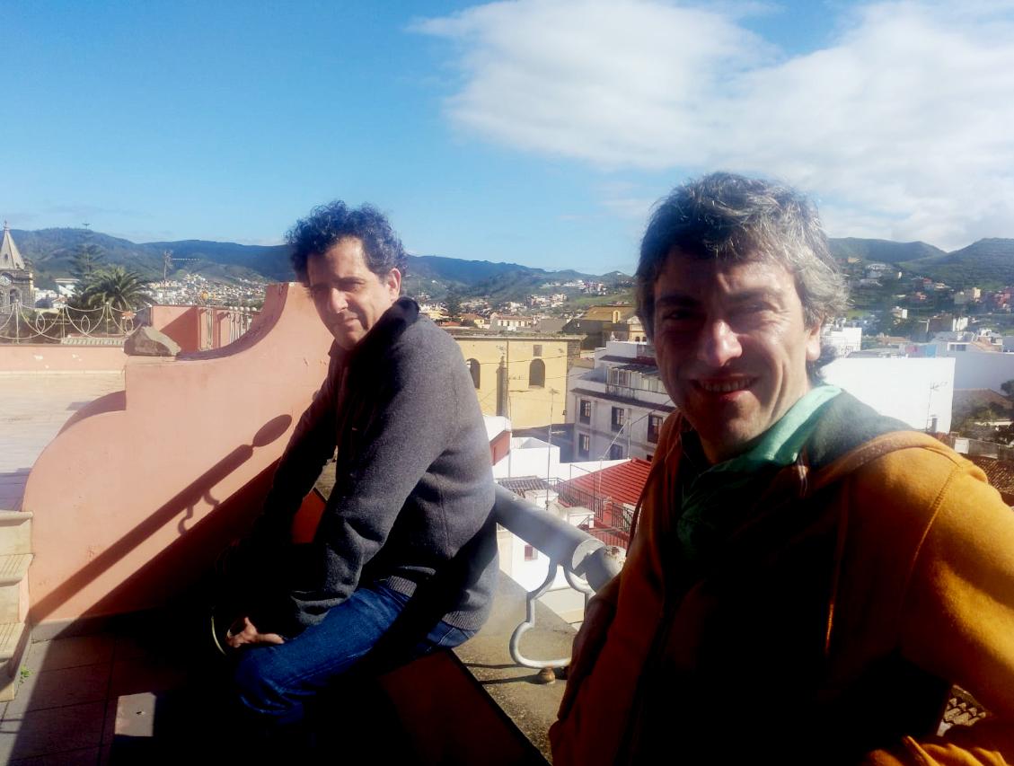 Comienza la primera residencia artística del año de Tenerife LAV con Óscar Cornago y Juan Navarro