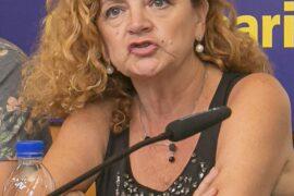 La actriz grancanaria Blanca Rodríguez