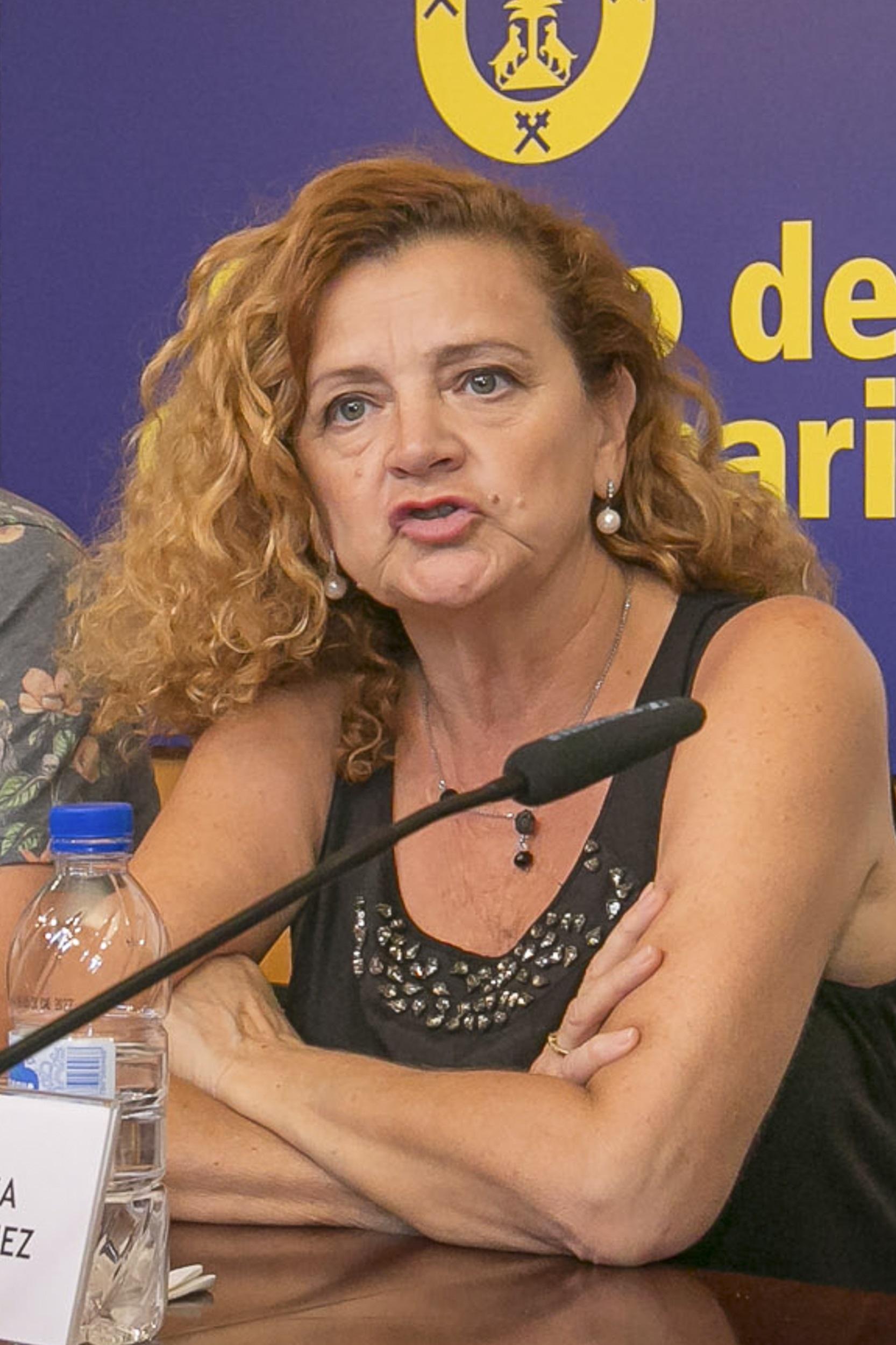 La actriz Blanca Rodríguez participa en varios proyectos en Gran Canaria