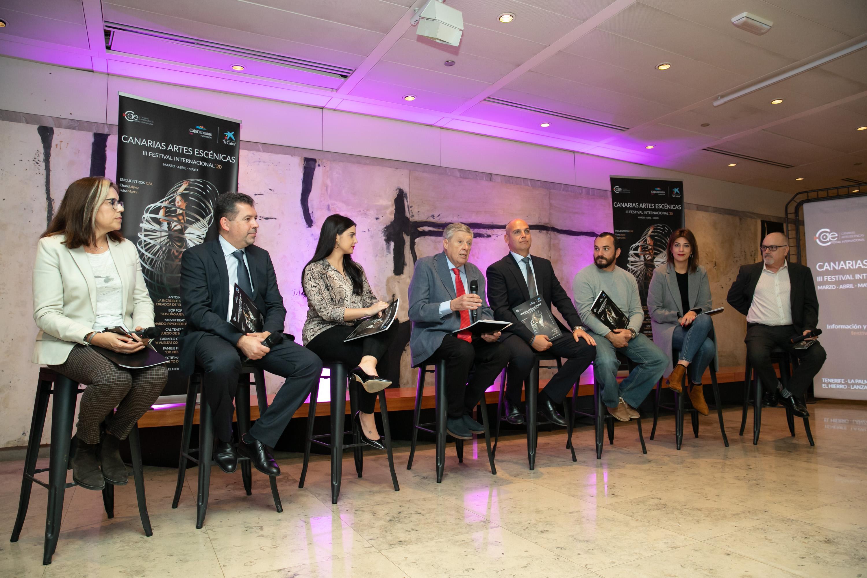 La Fundación CajaCanarias y La Caixa presentan el Festival Internacional Canarias Artes Escénicas, CAE 2020