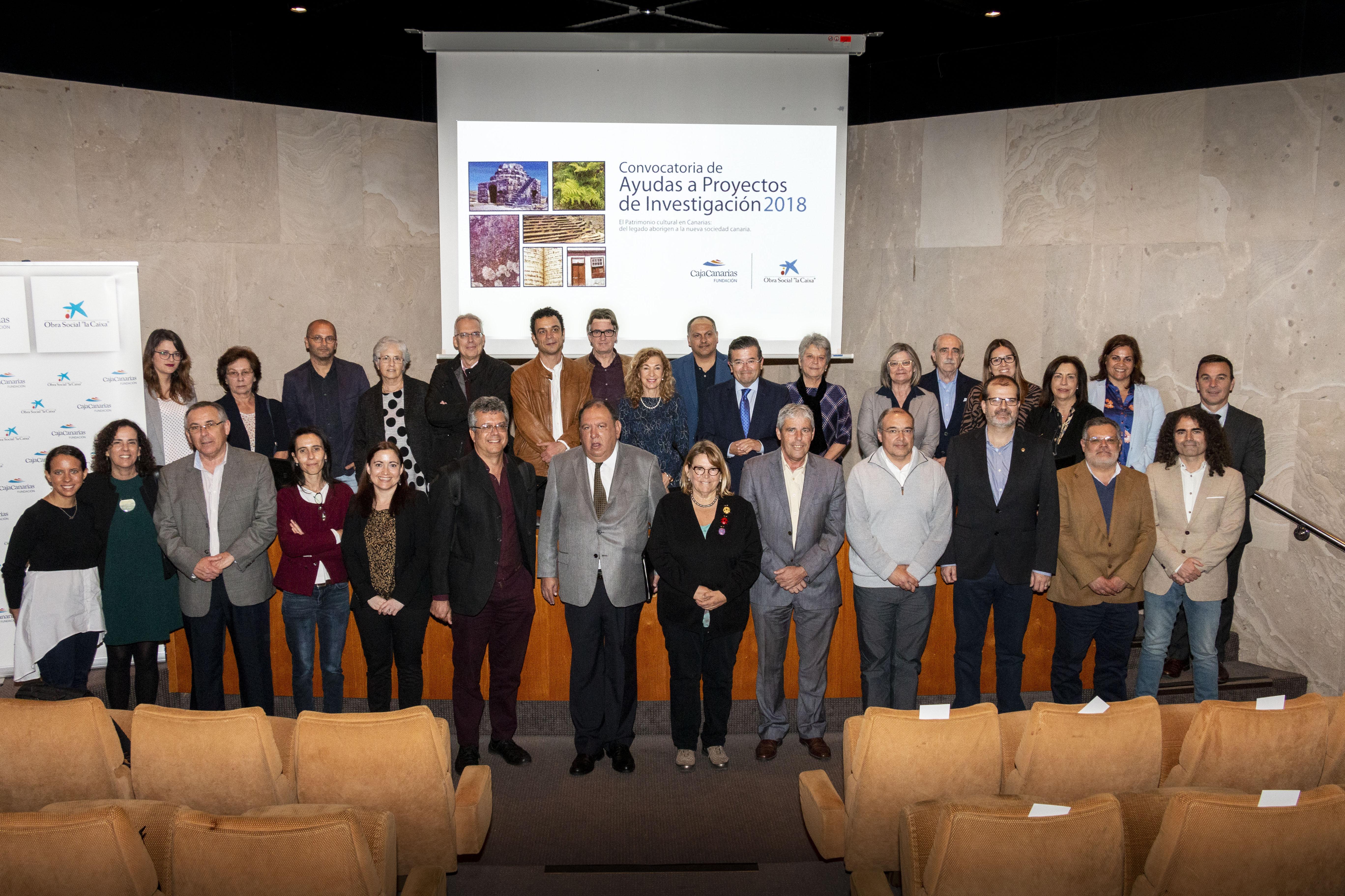 La Fundación CajaCanarias y la Caixa anuncian la resolución de su Convocatoria de Ayudas a Proyectos de Investigación 2019