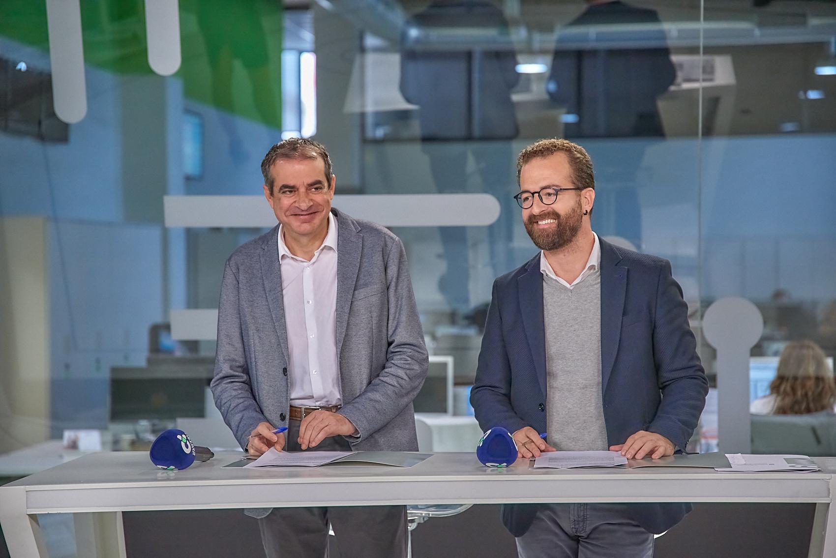 Cultura y Radio Televisión Canaria sellan una alianza para la difusión de la creación en las islas