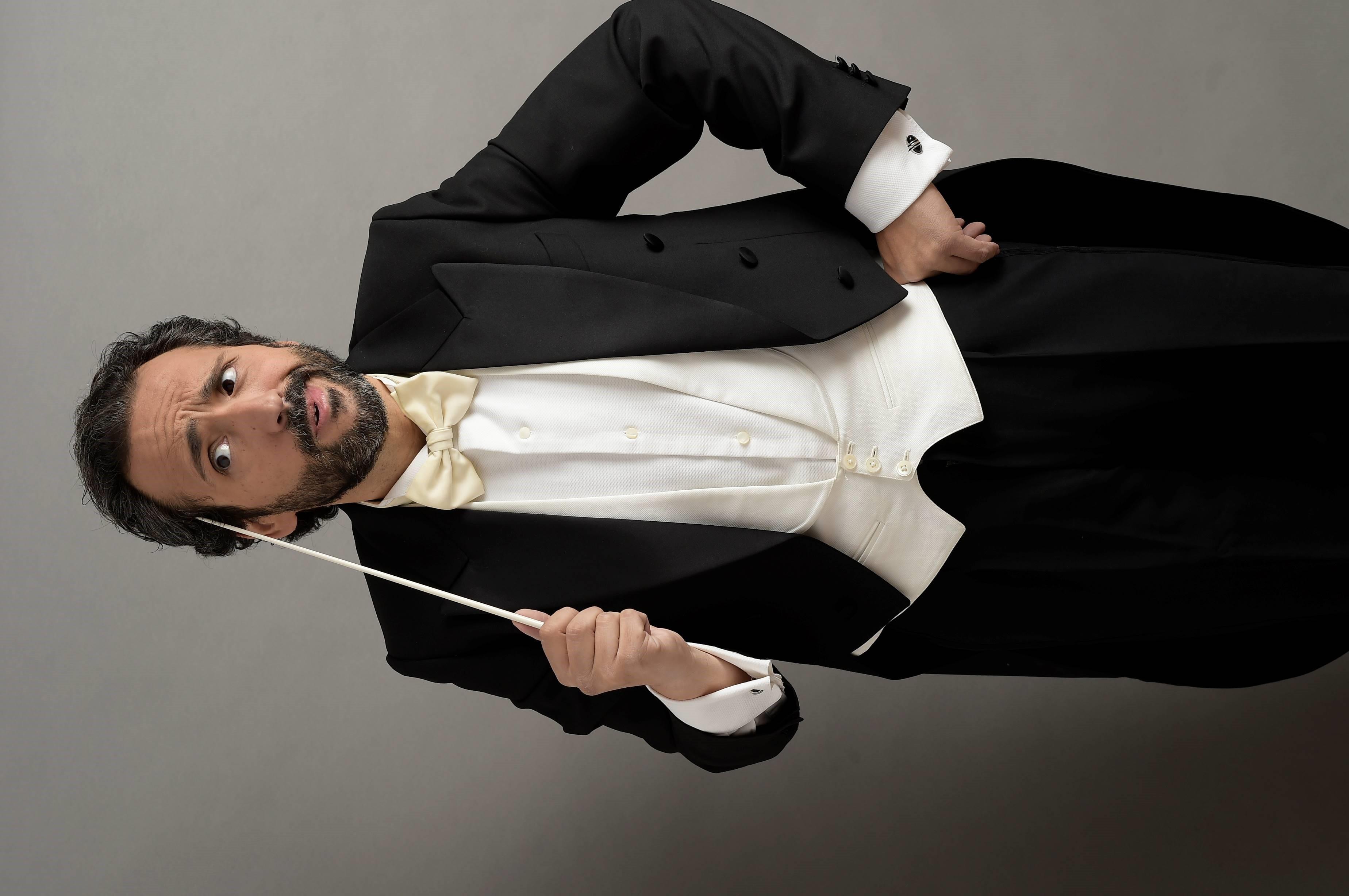José Manuel Zapata se estrena con la Sinfónica de Tenerife